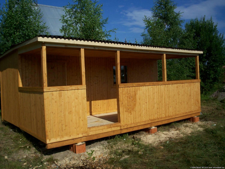 Реконструкция бытовки в дачный домик своими руками